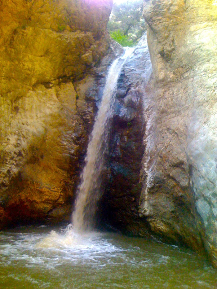 The 2nd waterfall!!